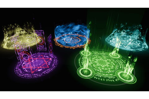 Advanced Magic Circle 1 by Kakky in FX - UE4 Marketplace