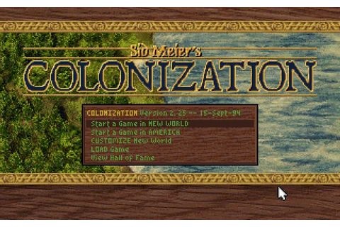 Colonization strategy for DOS (1994) - Abandonware DOS