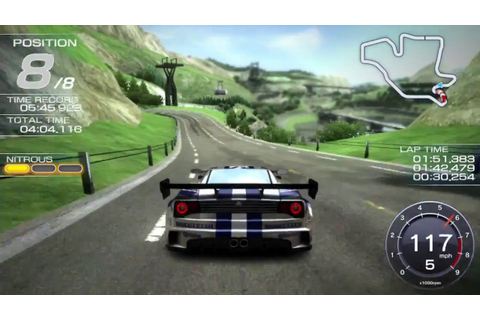 Ridge Racer - PS Vita Gameplay - YouTube