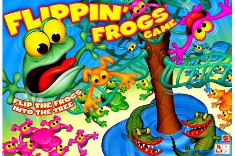 FLIPPIN' FROGS GAME | Mattlel frog art director tim ...