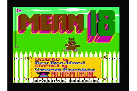Download Mean 18 - My Abandonware