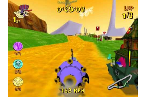 Wacky Races: Mad Motors (PS2 Gameplay) - YouTube