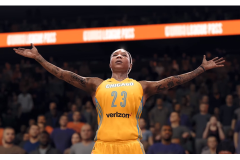 WNBA players added to NBA Live 18, to be featured in video ...