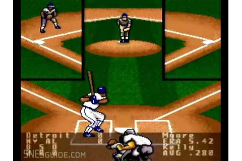 Super R.B.I. Baseball - SNES Gameplay - YouTube