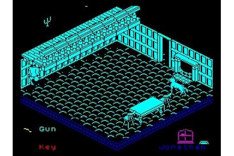 Nosferatu the Vampyre Walkthrough, ZX Spectrum - YouTube