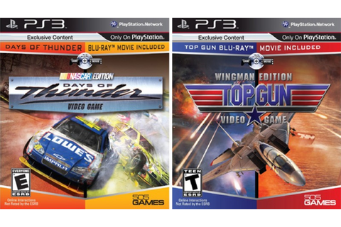 Top Gun & Days of Thunder Movie/Game Hybrid Hits PS3 ...