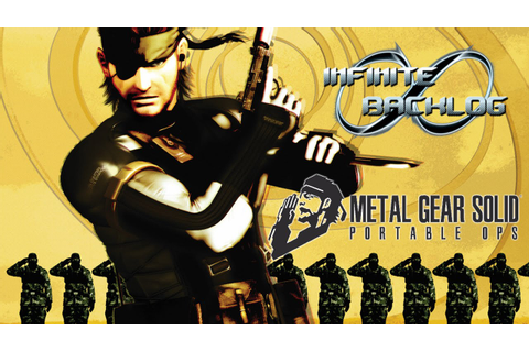 Metal Gear Solid: Portable Ops Review - YouTube