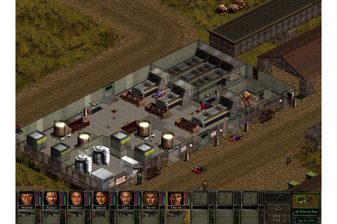 Jagged Alliance 2 Wildfire Game