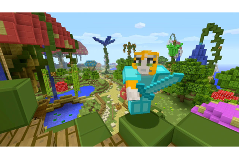 Minecraft Xbox - Enchanted Kingdom - Hunger Games - YouTube