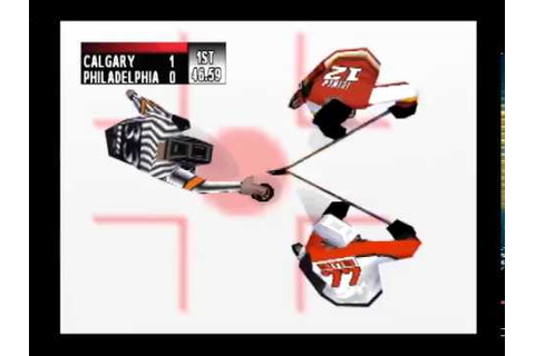 NHL Breakaway '99 Full Game - Calgary Flames vs ...