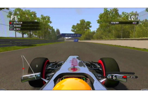 F1 2011 - Formula one 2011 - NEW Gameplay (PS3) - Lewis ...