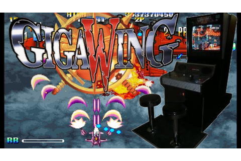 GIGA WING Arcade Shooter (Capcom Takumi 1999) Shoot Em Up ...