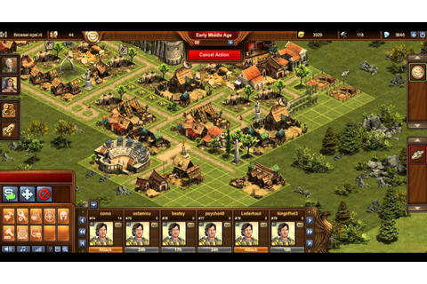 Forge Of Empires Gameplay - YouTube