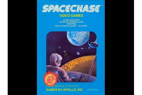 Spacechase / Atari 2600 - YouTube