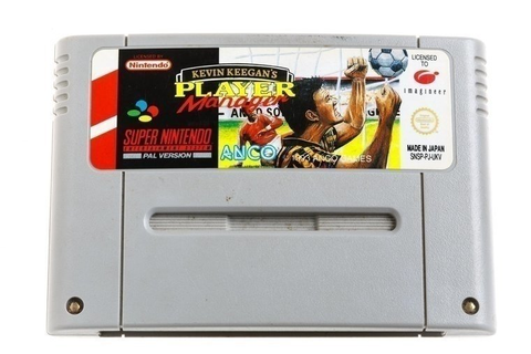 Kevin Keegan's Player Manager ⭐ Super Nintendo [SNES] Game ...
