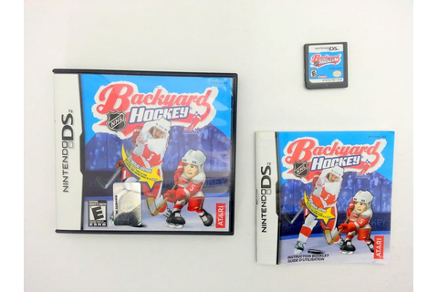 Backyard Hockey game for Nintendo DS -Complete - TheGameGuy.ca