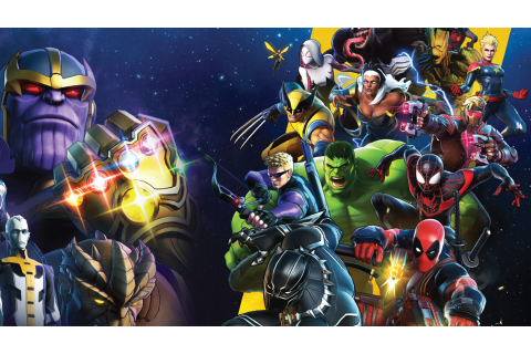 New Marvel Ultimate Alliance 3 gameplay from Game Informer ...