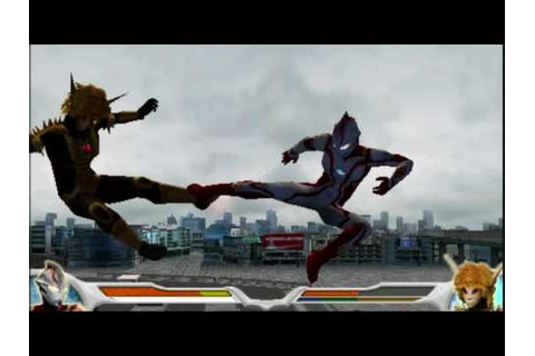 Ultraman Mebius in Ultraman Fighting Evolution 0 - YouTube