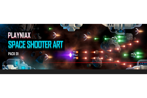 Space Shooter Art Pack 01 by Playniax