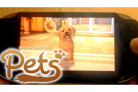 PlayStation Vita Pets - Let's Play 01 - YouTube