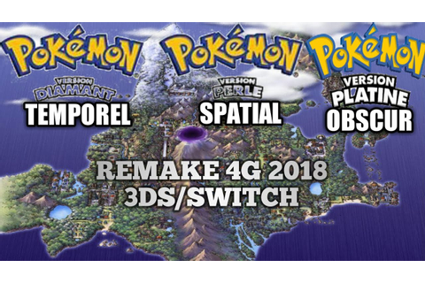 POKEMON DIAMANT TEMPOREL , POKEMON PERLE SPATIAL ET ...