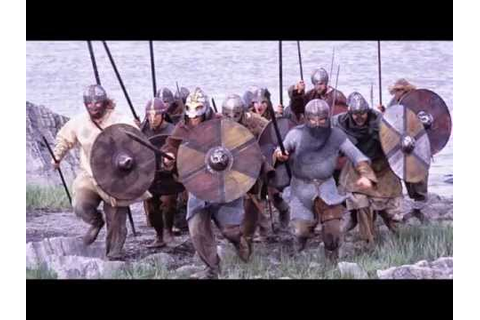 Vikings attacking England - YouTube