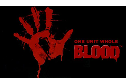 Blood One Unit Whole Blood-GOG Torrent « Games Torrent