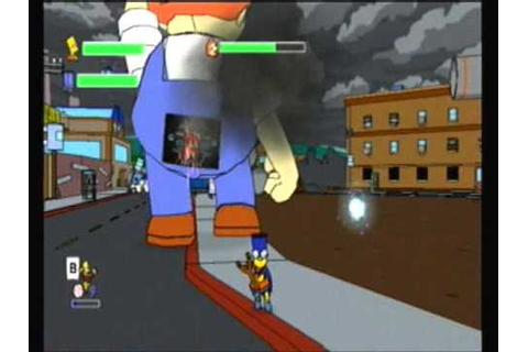 Let's Play The Simpsons Game Episode 7 ~~ Lard Lad Must ...