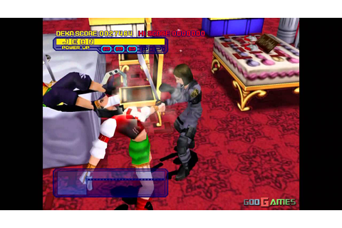 Dynamite Cop - Gameplay Dreamcast HD 720P - YouTube