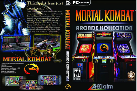TI Programas: Mortal Kombat Arcade Kollection PC Full ISO ...
