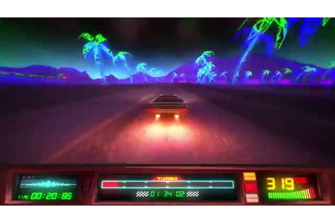 Power Drive 2000 - 'Vector Valley' Pre-Alpha Gameplay ...
