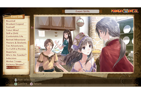 Atelier Totori The Adventurer of Arland DX Save Game ...