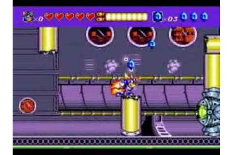 Sparkster: Rocket Knight Adventures 2 - Part 3 - YouTube