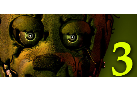 Save 75% on Five Nights at Freddy's 3 on Steam