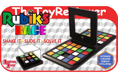Rubik's Race Board Game Cube Puzzle by University Games ...