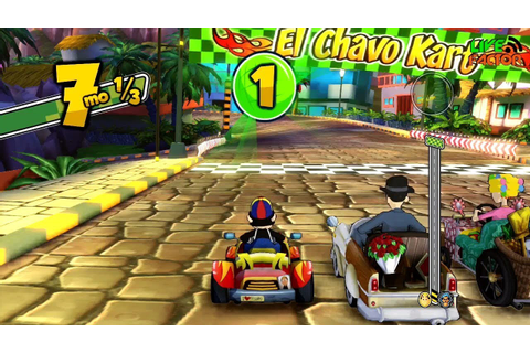 Gameplay - El Chavo Kart - Copa Quico - #GamePlay - YouTube