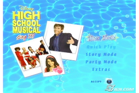 High School Musical: Sing It! Screenshots, Pictures ...