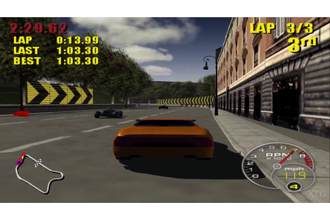 Supercar Street Challenge PS2 Gameplay HD (PCSX2) - YouTube