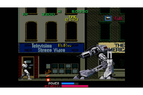 The Game Replay: RoboCop Part 1 - YouTube