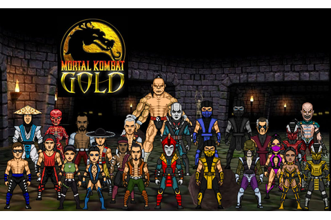Mortal Kombat Gold (Primary) by dzgarcia on DeviantArt