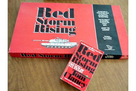 Tom Clancy Board Game Red Storm Rising With Free BookVintage