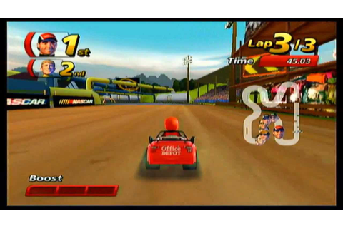 NASCAR Kart Racing (Wii) | Classic Game Room Wiki | Fandom powered by ...