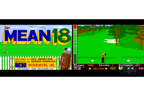Mean 18 : Hall Of Light – The database of Amiga games