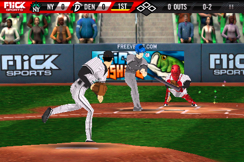 Preview 'Flick Baseball' - AppTrawler