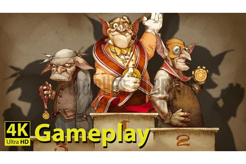 Gremlins, Inc - 4K GAMEPLAY [Steampunk Strategy Board Game ...