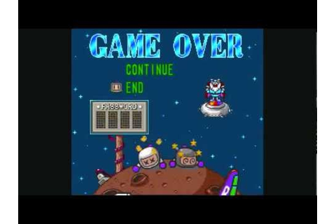 Game Over: Super Bomberman 3 - YouTube