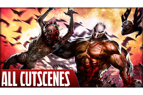 Splatterhouse (PS3) - All Cutscenes - YouTube