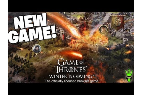 WINTER IS COMING! - *NEW GAME* - Game of Thrones: Winter ...