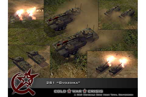 "2S1 ""Gvozdika"" in-game image - Cold War Crisis mod for C&C ..."