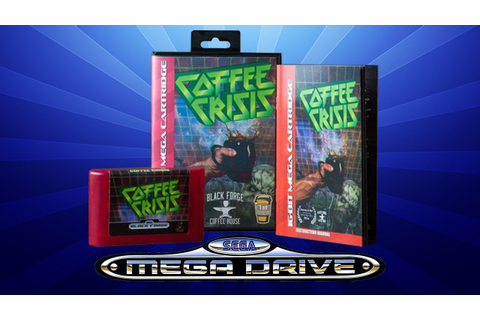 Coffee Crisis for Mega Drive / Genesis - Unboxing ...